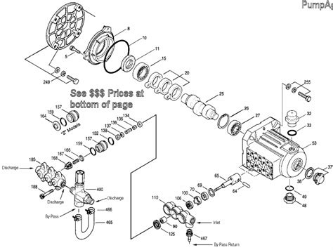 cat pumps parts diagrams parts for cat model 2sfx22es