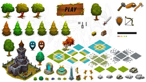 game assets store isometric art assets  indie devs