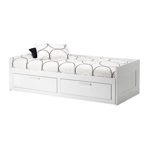 Brimnes Daybed Frame With 2 Drawers White by Brimnes Daybed Frame With 2 Drawers White Storage