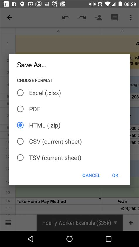 video file format supported by android google sheets and slides for android updated with support