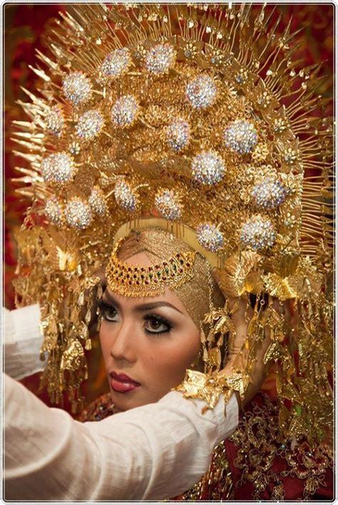 Headpiece Headpiece Pengantin 3 1000 images about minangkabau wedding on