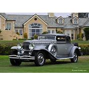 1930 Duesenberg Model J Convertible Victoria Stock Photo
