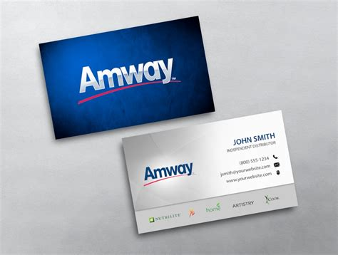 Amway Business Card Template by Amway Business Card 05