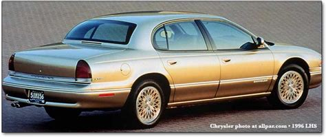 Chrysler Lhs 1996 by 1996 Chrysler Lhs Information And Photos Zombiedrive