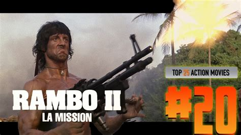 film action rambo 5 top 25 action movies 20 rambo 2 la mission youtube