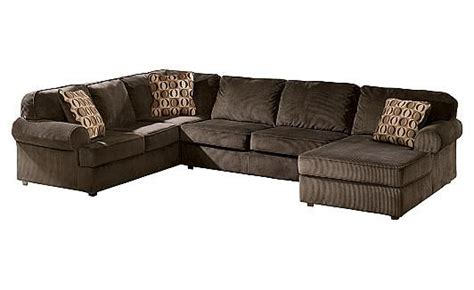 victory chocolate sectional vista chocolate sectional dream home pinterest