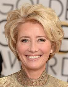 emma thompson short hairstyle
