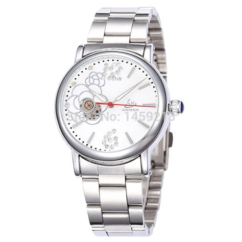 luxury stainless steel automatic mechanical