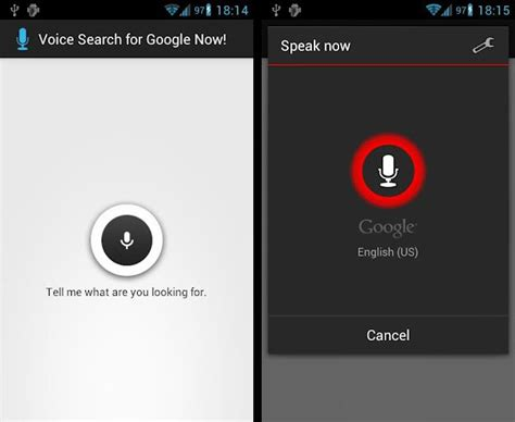 voice search android get voice search on now on android 4 0 sandwich devices the android soul