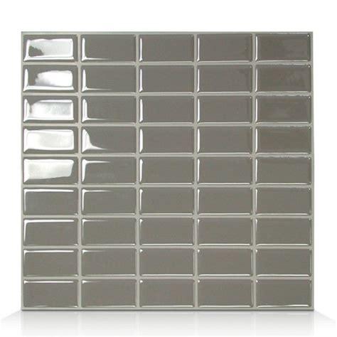 smart tiles sm1040 java self adhesive wall tile lowe s