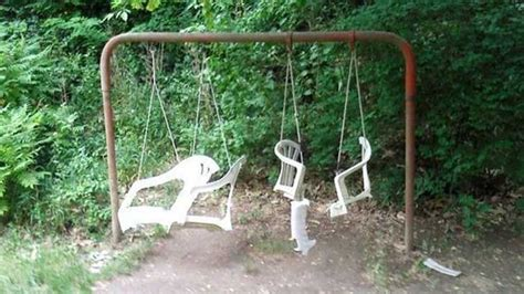 swing set fail hilarious diy fixes and fails photos