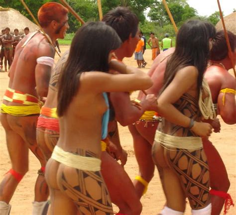 Adventures All Around The World Xingu Park Tribal Girls