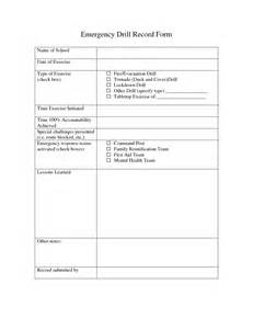 evacuation drill report template best photos of evacuation drill report template