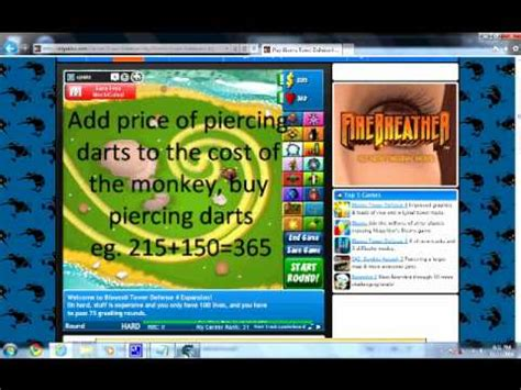bloons tower defense 4 expansion 1cup1coffeecom how to hack bloons tower defense 4 expansion youtube