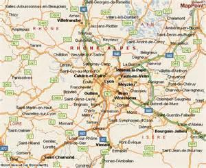 Lyon France Map by Maps Of Lyon