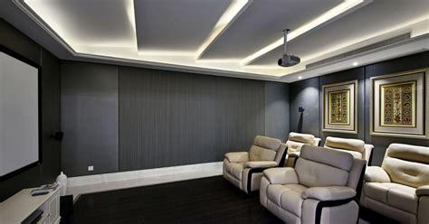 modern minimalist style home theater renovationinterior