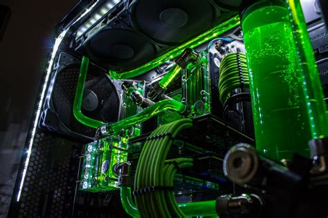 phanteks enthoo evolv green build techmaxtv high  pcs