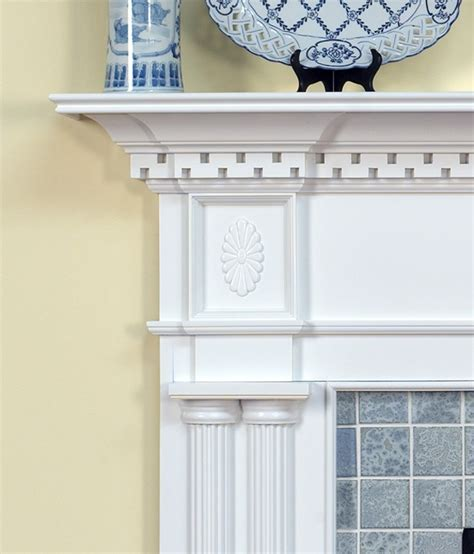 colonial fireplace mantel dentil molding dimensions crafts
