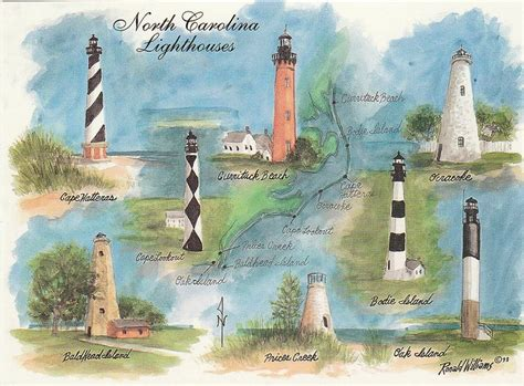 Linata Maxy nc lighthouses cape hatteras cape lookout ocracoke island currituck bodie