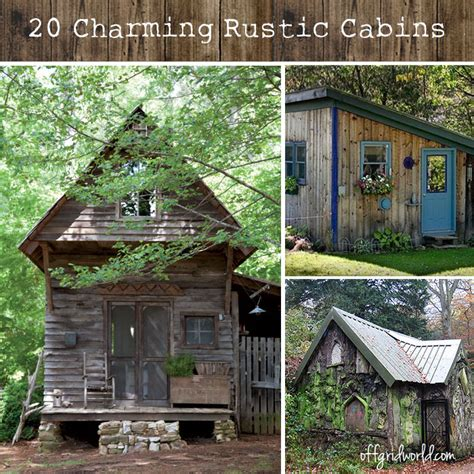Northwoods Cabins by 20 Exquisitely Charming Rustic Cabins Grid World