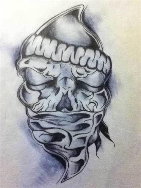 bandana design tattoos best 25 bandana ideas on gangster