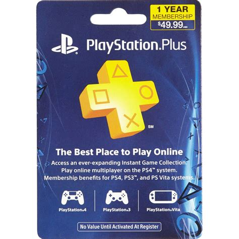 Playstation Gift Card Exchange - sony playstation plus ps4 12 month membership gift card music gaming gifts