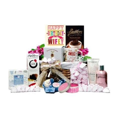 wife gifts personalised valentine s day gift baskets for her
