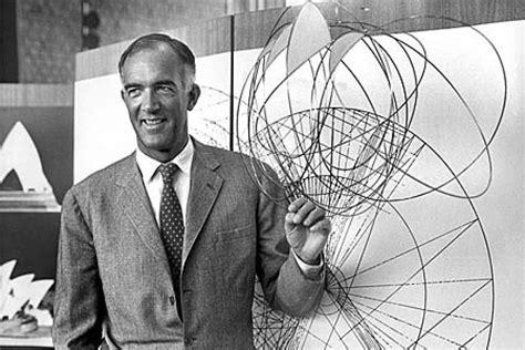 designer of sydney opera house architect joern utzon shows off his sydney opera house design in 1967 abc news