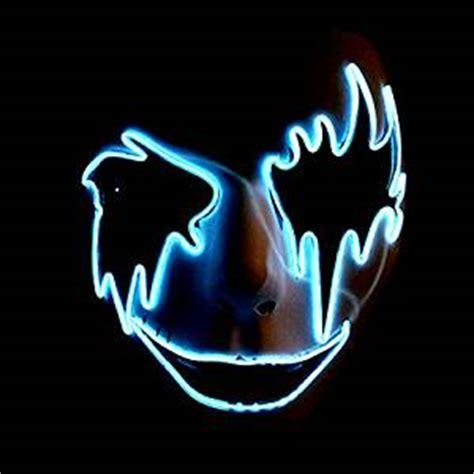 cool lights amazon amazon com circle circle el wire glowing mask luminous