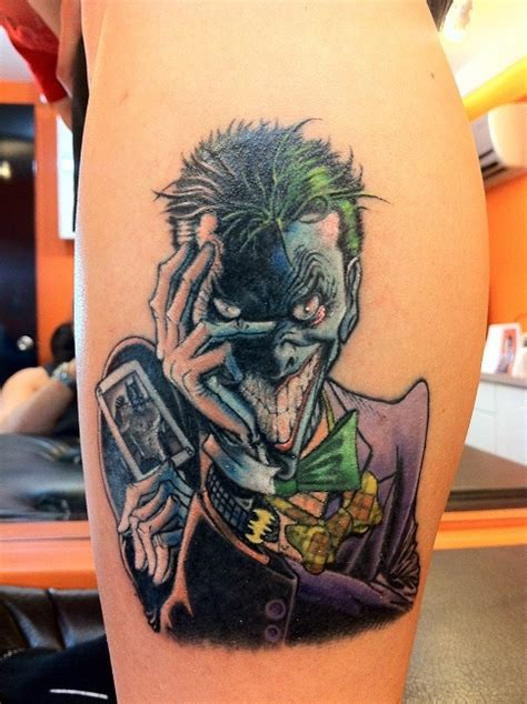 joker batman tattoo designs my joker tattoo batman tattoo pinterest