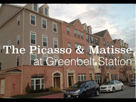 picasso matisse new homes at greenbelt station
