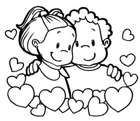 imagenes de amor para colorear para niños im 225 genes de san valentin para colorear dibujode