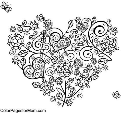 coloring pages for adults heart heart coloring pages for adults coloring pages