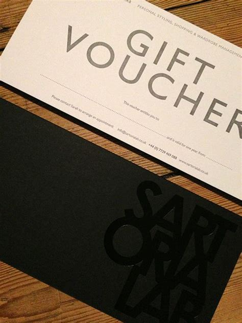 design lab gift card 17 best images about gift card voucher on pinterest