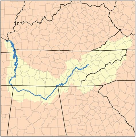 tennessee river map localwaters tennessee river maps boat rs access points