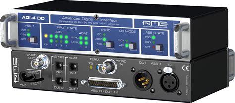 format audio spdif rme adi 4 dd