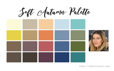 soft autumn palette soft and warm infinite closet