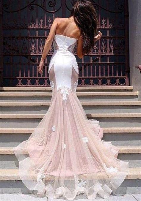 Patchwork Wedding Dress - pink patchwork grenadine appliques tulle v neck sleveless