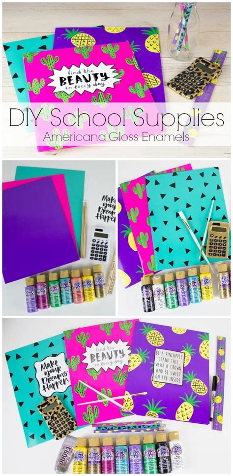 diy school supplies for 208 best images about diy with decoart on enamel paint no sanding and rocking chair