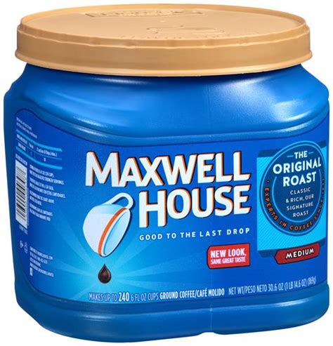 buy maxwell house coffee online maxwell house original roast ground coffee hy vee aisles online grocery shopping