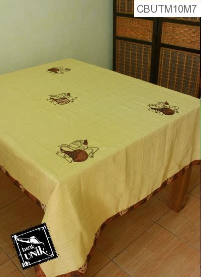 Tempat Tisu Persegi Panjang Motif Kaki taplak meja makan motif semar batik taplak meja batik