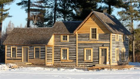 Log Cabin Crandon Wi by Two Centuries Two Continents And Two Cultures