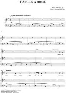 Build A Home Online to build a home sheet music music for piano and more