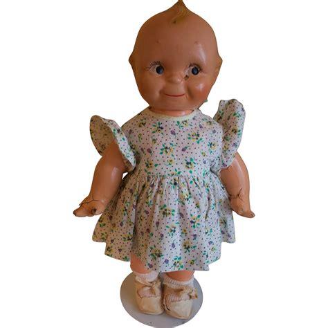 vintage composition kewpie doll adorable 13 vintage collectible kewpie doll composition