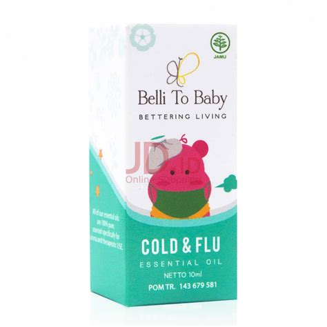 Belli To Baby Cold jual belli to baby cold flu essential 10 ml jd id