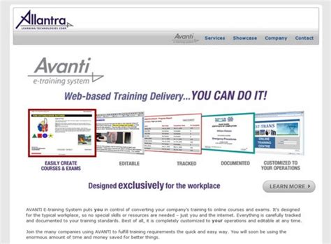 online tutorial management system avanti e training system reviews and pricing 2017