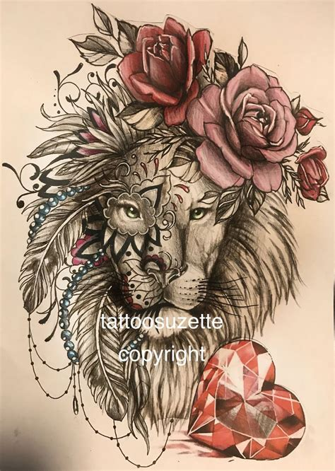 girly lion tattoos 746 best animal images on horses animales and