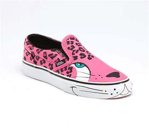 cool vans shoes for black and pink creative keds