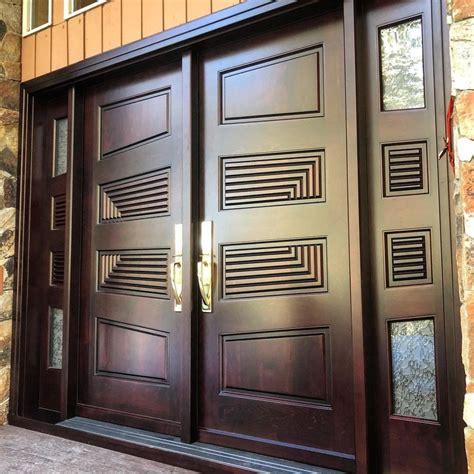 solid maple double doors custom  geometry  create