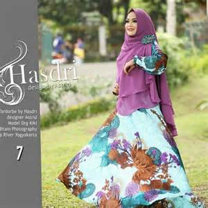 Setelan Gamis Monalisa Klok Umbrella Khimar Ceruti 3 Layer Realpict 4 by hasdri fashion butiq